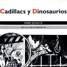 Cómics: SALON COMIC DEL PRINCIPADO DE ASTURIAS CARTEL EXPOSICION MARK SCHLUZ TAMAÑO DIN A2 . Lote 127128803