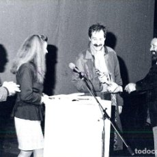 Cómics: FOTOS SALON DEL COMIC DEL PRINCIPADO DE ASTURIAS - 1987 BOLLAND Y EL PREMIO HAXTUR. Lote 127508787