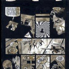 Cómics: ART COMIC PAUL GULACY TAMAÑO DIN A3 PREMIO HAXTUR CARPETA GUALCY. Lote 127573043