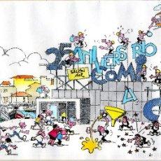 Cómics: EXPOSICION 25 AÑOS SALON COMIC PRINCIPADO ASTURIAS 2001 BLANCO TBO 40 X 29 CM.. Lote 128029015