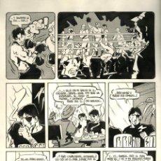 Cómics: ORIGINAL DE M DE MANEL GIMENO, PUBLICADO EN BÉSAME MUCHO EN 1980. MEDIDAS 51 X 36 CMS. Lote 128314311