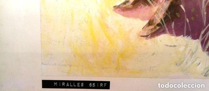 Cómics: JOSEP MARIA MIRALLES. ILUSTRACIÓN ORIGINAL - Foto 4 - 128314951