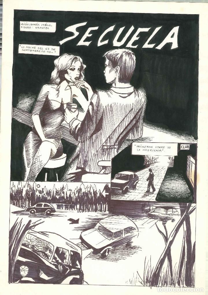 ARANTZA & DAMIAN TRESEL. HISTORIA COMPLETA INEDITA PARA SOS (Tebeos y Comics - Art Comic)