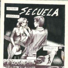 Cómics: ARANTZA & DAMIAN TRESEL. HISTORIA COMPLETA INEDITA PARA SOS. Lote 129067563
