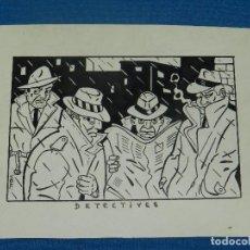 Cómics: (V1) DIBUJO ORGINAL DE VIDAL , 17 X 13 CM, BUEN ESTADO. Lote 129167315