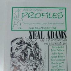 Cómics: COMIC BOOKS FROFILES NEAL ADAMS MAGAZINE USA. Lote 129186803
