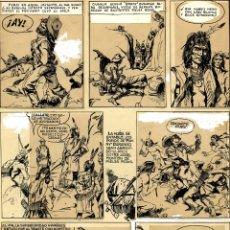 Cómics: ART COMIC DE VICTOR DE LA FUENTE(FOTO PREMIO HAXTUR) DE PONNY DURANGO 430 X 300 SALON COMIC ASTURIAS. Lote 129212943