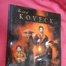 Cómics: THE ART OF KOVECK . NORMA EDITORIAL. 1ª EDICION. Lote 130681864