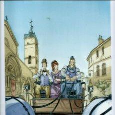 Comics: LAMINA DE PAPEL GRUESO TIPO POSTER - 33X24 CENT - L'HOMME QUI N'AIMAIT PAS LES ARMES - DELCOURT 2014. Lote 131085356