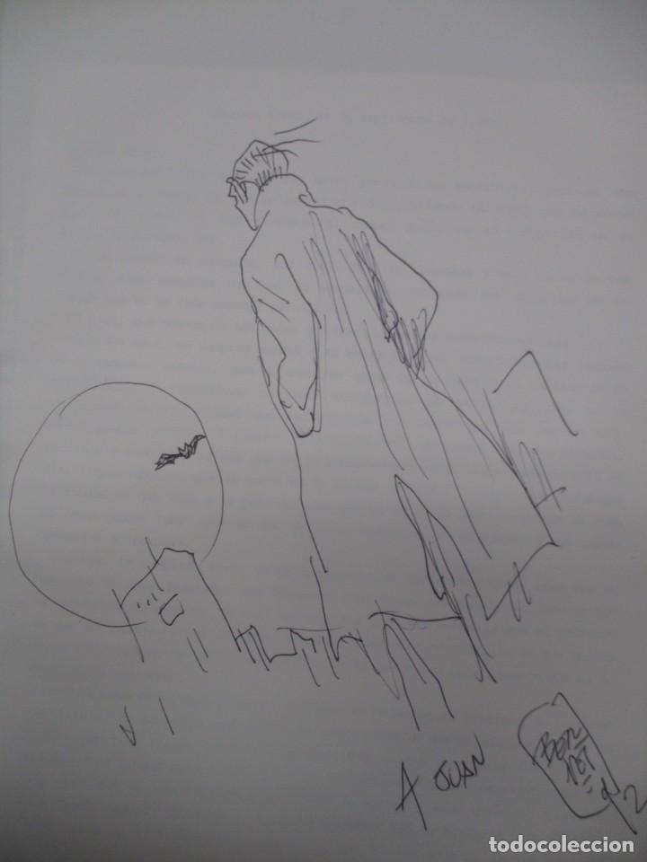 FANTASTICO DIBUJO ORIGINAL DE JORDI BERNET FIRMADO DE SU PERSONAJE IVANPIIRE 26 X 19 (Tebeos y Comics - Art Comic)