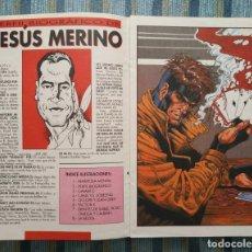 Cómics: PORTAFOLIO MUTANTE CON ILUSTRACIONES DE JESUS MERINO (1994). Lote 133448198