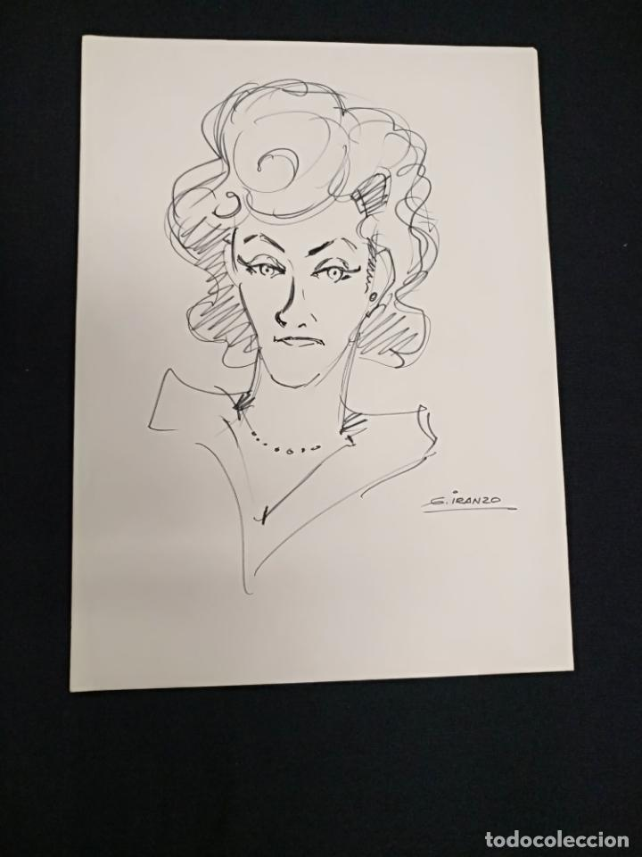 JUAN GARCIA IRANZO - DIBUJO ORIGINAL FIRMADO - (Tebeos y Comics - Art Comic)