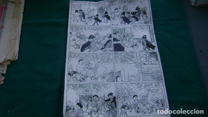 ORIGINAL EN FRANCES INPIRADO EN FAMILIA ULISES DEL TBO TEBEO SIN FIRMAR VEASE MALPASILLO (Tebeos y Comics - Art Comic)