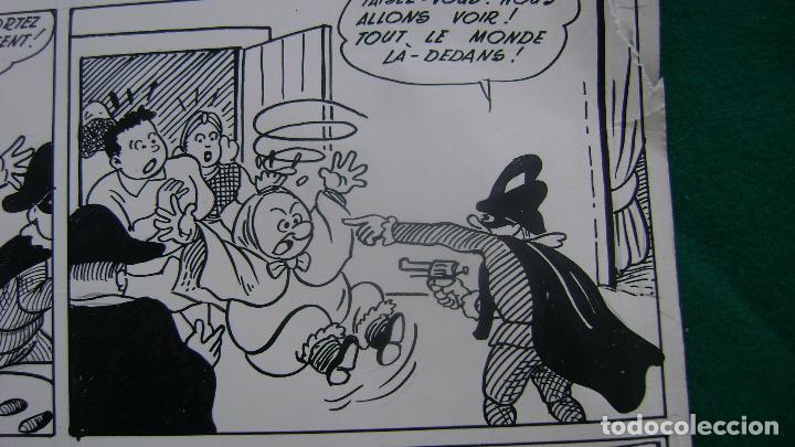 Cómics: ORIGINAL EN FRANCES INPIRADO EN FAMILIA ULISES DEL TBO TEBEO SIN FIRMAR VEASE MALPASILLO - Foto 8 - 134029786