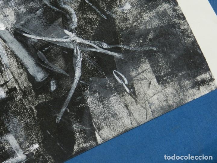 Cómics: (B/D) DIBUJO ORIGINAL DE GEORGE PRATT (TEXAS 1960) ESPECTACULAR DIBUJO ORIGINAL MILITAR 61 X 46 CM - Foto 6 - 134415774