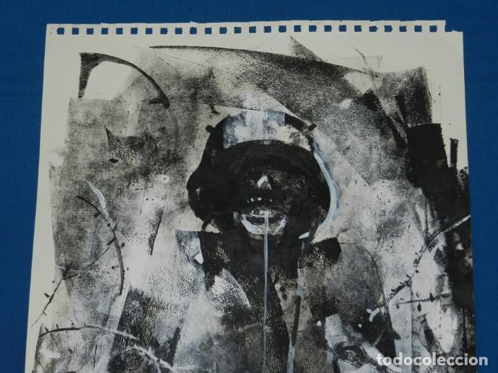 Cómics: (B/D) DIBUJO ORIGINAL DE GEORGE PRATT (TEXAS 1960) ESPECTACULAR DIBUJO ORIGINAL MILITAR 455X355 CM - Foto 3 - 134416178