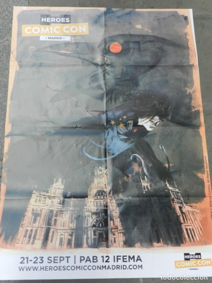 Cómics: (B/D) DIBUJO DE GEORGE PRATT - DIBUJO ORIGINAL CARTEL HEROES COMIC CON MADRID 2018, ESPECTACULAR - Foto 5 - 134421234