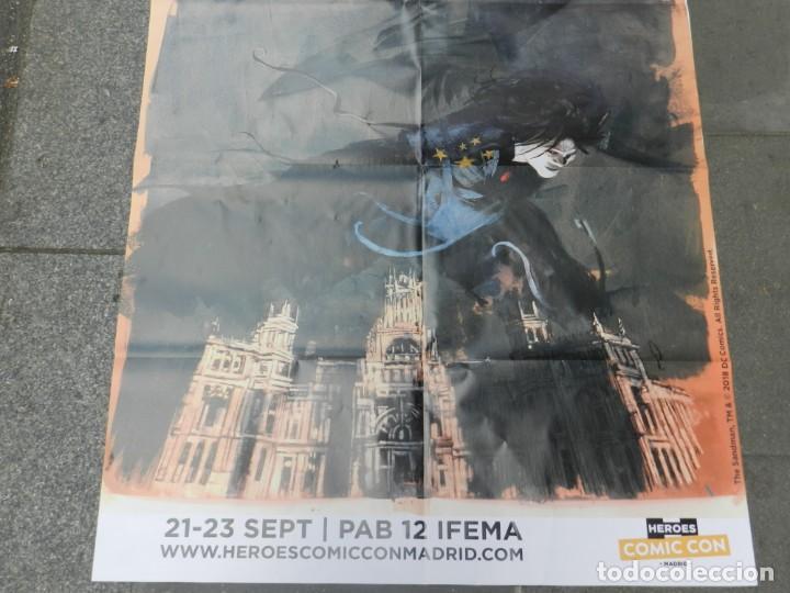 Cómics: (B/D) DIBUJO DE GEORGE PRATT - DIBUJO ORIGINAL CARTEL HEROES COMIC CON MADRID 2018, ESPECTACULAR - Foto 7 - 134421234