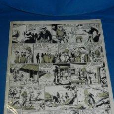 Cómics: (AG1) DIBUJO ORIGINAL DE ANTONIO GARCIA - EDT MARCO , 43 X 34 CM, SEÑALES DE USO. Lote 134579338