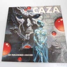 Cómics: CAZA - LES HUMANOIDES ASSOCIES - GRAFICAS ROMAN 1979 - PRIMERA EDICION - MUY BUEN ESTADO. Lote 134530230