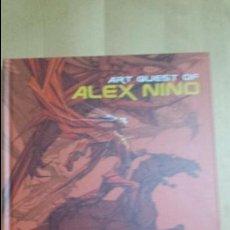 Cómics: ART ALEX NIÑO (FIRMADO + DIBUJO). Lote 134890146