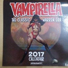Cómics: VAMPIRELLA CALENDAR 2017 (WARREN ERA). Lote 134891446