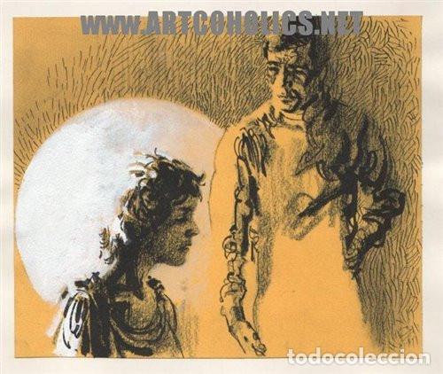 ILUSTRACIÓN ORIGINAL DE FERNANDO FERNÁNDEZ : DIBUJO PARA NOVELA FIRMADO (Tebeos y Comics - Art Comic)