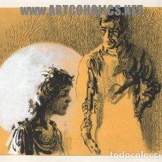 Cómics: ILUSTRACIÓN ORIGINAL DE FERNANDO FERNÁNDEZ : DIBUJO PARA NOVELA FIRMADO. Lote 135183466