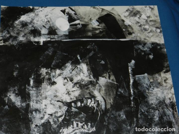 Cómics: (B/D) DIBUJO ORIGINAL DE GEORGE PRATT (TEXAS 1960) TITULADO: SCREAM SOLDADO INGLES , 61 X 46 CM - Foto 2 - 135692503