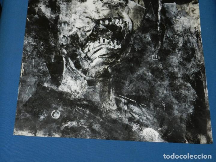 Cómics: (B/D) DIBUJO ORIGINAL DE GEORGE PRATT (TEXAS 1960) TITULADO: SCREAM SOLDADO INGLES , 61 X 46 CM - Foto 5 - 135692503