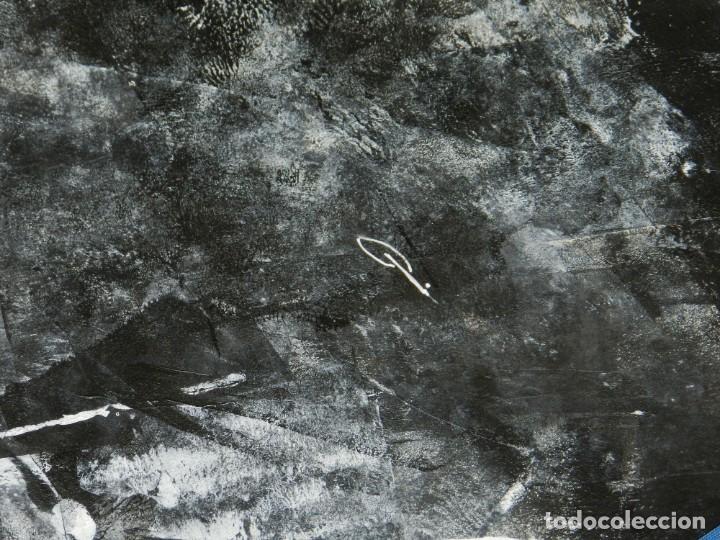 Cómics: (B/D) DIBUJO ORIGINAL DE GEORGE PRATT (TEXAS 1960) TITULADO: SCREAM SOLDADO INGLES , 61 X 46 CM - Foto 6 - 135692503