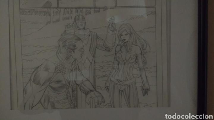Cómics: Arte original/original art comic Carlos Pacheco,Uncanny X-Men Vol 2,10-Patrulla X,vol 1,4-Emma Frost - Foto 4 - 135925555