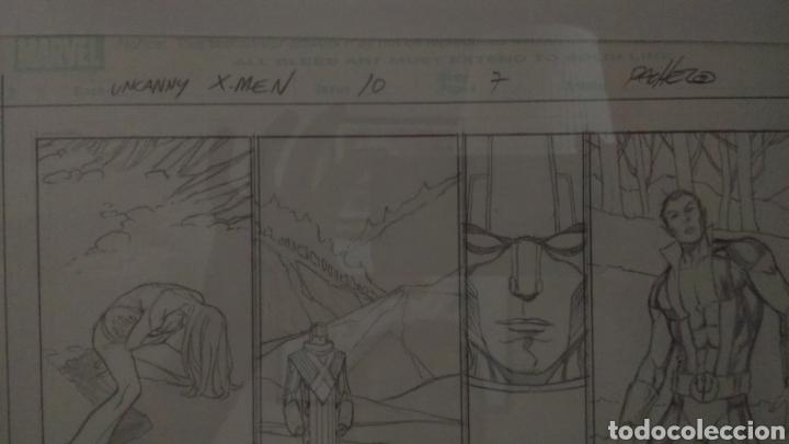 Cómics: Arte original/original art comic Carlos Pacheco,Uncanny X-Men Vol 2,10-Patrulla X,vol 1,4-Emma Frost - Foto 5 - 135925555