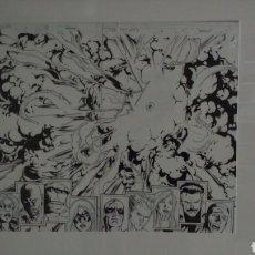 Cómics: DEATH BROTHER VOODOO/ MUERTE HERMANO VUDÚ.SPLASH PAGE DE STUART IMMONEN,THE NEW AVENGERS,VOL 2, 6. Lote 135927929