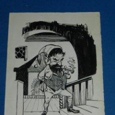 Cómics: (MS1) DIBUJO ORIGINAL DE MANFRED SOMMER , DIBUJO SIN FIRMAR , 23'5 X 17 CM , BUEN ESTADO. Lote 136054282