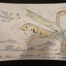 Cómics: DIBUJO ORIGINAL GARCIA IRANZO. LA PLATANERA. Lote 136852448