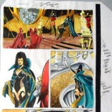 Cómics: CHRISTIE SCHEELE. PRUEBA DE COLOR PARA GALACTUS EL DEVORADOR. Nº 5, PÁGINA 1. Lote 139183902