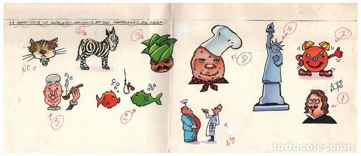 DIBUJO ORIGINAL EN COLOR DE JOSÉ ROYO (Tebeos y Comics - Art Comic)