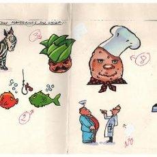 Cómics: DIBUJO ORIGINAL EN COLOR DE JOSÉ ROYO. Lote 139208490