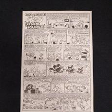 Cómics: ORIGINAL PUBLICADO DE JUAN GARCIA IRANZO - PERICO FRESCALES LOS DOS IGUALES + TEBEO - TRAMPOLIN. Lote 139551094