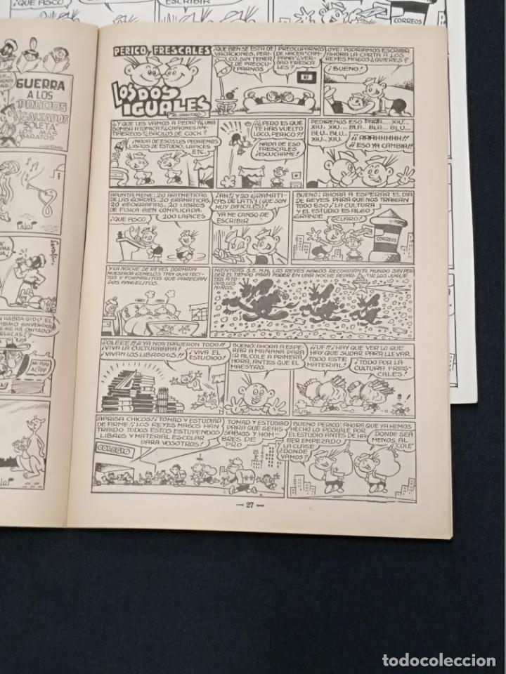 Cómics: ORIGINAL PUBLICADO DE JUAN GARCIA IRANZO - PERICO FRESCALES LOS DOS IGUALES + TEBEO - TRAMPOLIN - Foto 7 - 139551094