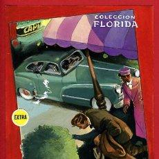 Cómics: DIBUJO ORIGINAL COLOR , COLECCION FLORIDA Nº 40 , LOZANO , FURIAS DEL HAMPA. Lote 139652414