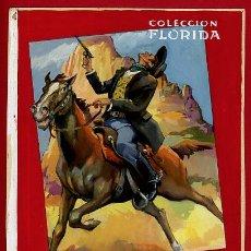 Cómics: DIBUJO ORIGINAL COLOR LOZANO COLECCION FLORIDA Nº 5 , DURO COMO LA ROCA. Lote 139652734