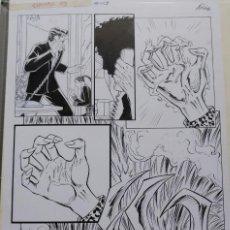 Comics: PÁGINA ORIGINAL DE EXPOSURE - AL RIO. Lote 139781670