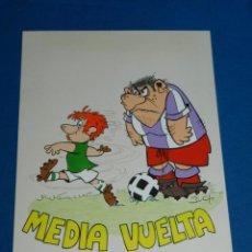 Cómics: (B1) DIBUJO ORIGINAL DE BUCH - FUTBOL MEDIA VUELTA , 31 X 21'5 CM, BUEN ESTADO. Lote 139858438