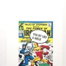 Cómics: JOHNNY LOVE LTD. ED. 21X15CM GRAN IMPRESIÓN FIRMADA CON CERTIFICADO DE AUTENTICIDAD - STREET ART. Lote 140472950