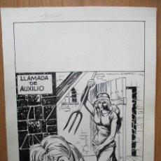 Cómics: EL PRÍNCIPE DE RODAS (EL COLOSO) 2ª PARTE Nº 3O, COMPLETO: PORTADA + 10 PÁGINAS, DE ESTEBAN MAROTO.. Lote 140644954