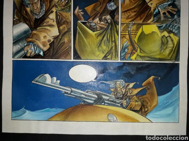 Cómics: Página original de Lorna Leviatán de Alfonso Azpiri - Foto 3 - 140860397
