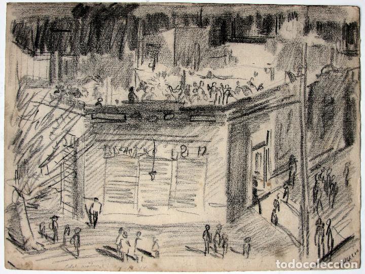 ALBERTO BRECCIA, DIBUJO ORIGINAL 1944 (Tebeos y Comics - Art Comic)