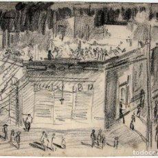 Cómics: ALBERTO BRECCIA, DIBUJO ORIGINAL 1944. Lote 141508098